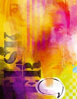 Personlig og grafisk collagekunst af D'ROUGE studio